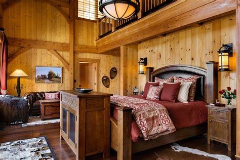 hunting lodge decor bedroom modern  beach style floor