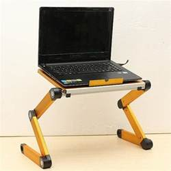 Laptop Adjustable Desk Buy Folding Adjustable Laptop Table Stand Desk Usb Cooling Pad Bazaargadgets