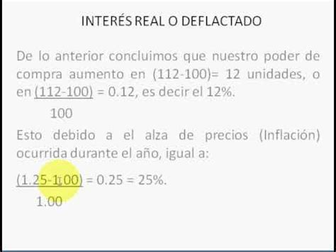 formula para calcular los intereses de cesantias c 243 mo calcular el inter 233 s real por andr 233 s 193 lvarez youtube