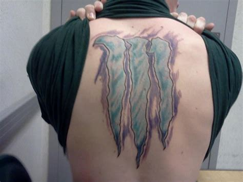 monster energy tattoo are tattoos the ultimate exle of brand evangelism