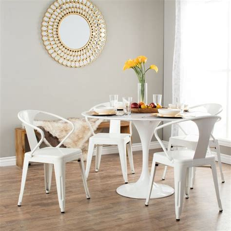 white tabouret stacking chairs set of 4 set of