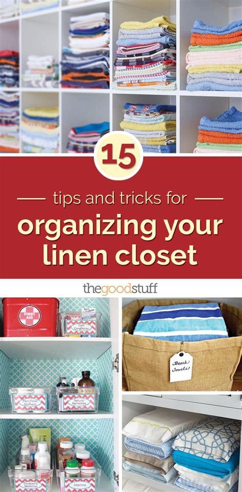 closet organization tips and tricks great ideas for home 15 tips and tricks for organizing your linen closet