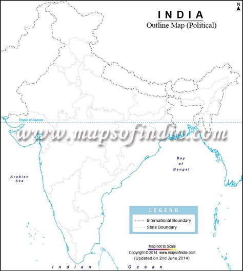India Physical Map Outline In A4 Size by India Political Map Outline A4 Size Www Pixshark Images Galleries With A Bite