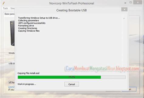 cara membuat usb bootable windows 7 64 bit cara membuat bootable windows 10 di flashdisk dengan