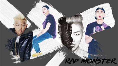 rap monster bts wallpaper rap monster bts wallpaper edit by sayityesorno on deviantart