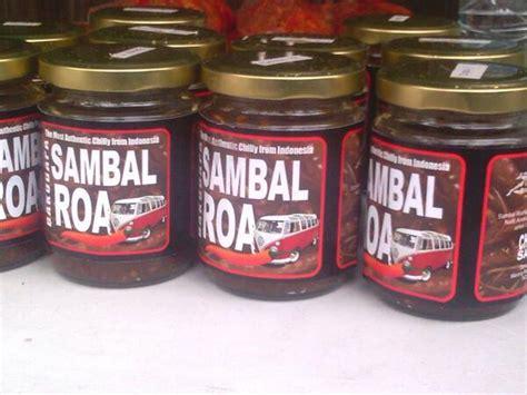 Sambal Roa Level 2 100gr 1 sambal roa bakudapa the most authentic chilli from indonesia