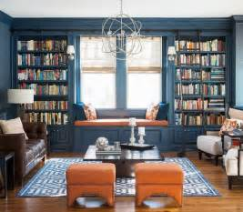 Library Bookshelf With Ladder 62 Home Library Design Ideas With Stunning Visual Effect