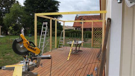 Comment Construire Une Pergola 2804 by Autoconstruction D Une Pergola En Bois Autoconstruction