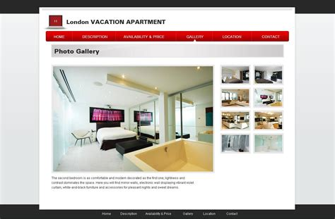 free vacation rental template 20 home template