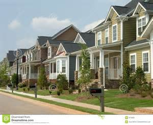 house free american row house royalty free stock images image 975909