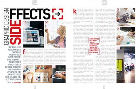 magazine layout envato magazine template indesign 40 page layout v8 by