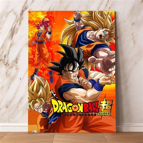 cuadros murales dragon ball z goku cuadros mdf mural afiches posters 60x40