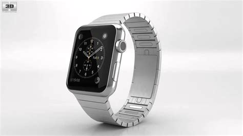 Apple Watch 42mm Stainless Steel Case Link Bracelet by 3D model store Humster3D.com   YouTube