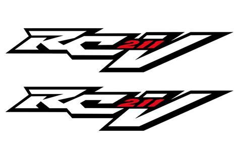 logos van de welbekende racer rcv