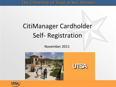ppt citimanager cardholder self registration powerpoint