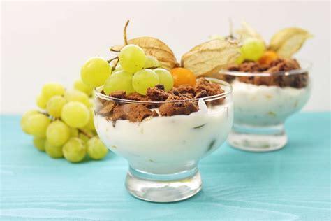 Quark Nachtisch by Schoko Quark Dessert Im Glas Nachtisch Rezepte