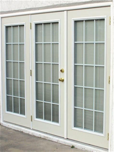Vinyl Sliding Patio Doors French Doors With Triple Glazed Doorglass Duradoors