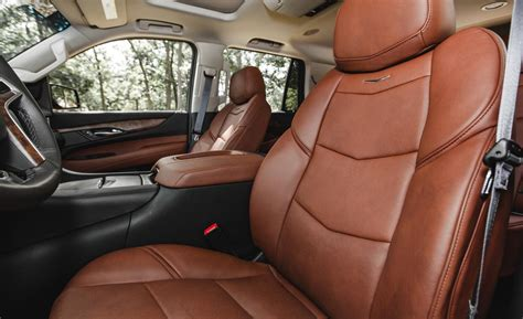 cadillac escalade 2015 interior car and driver