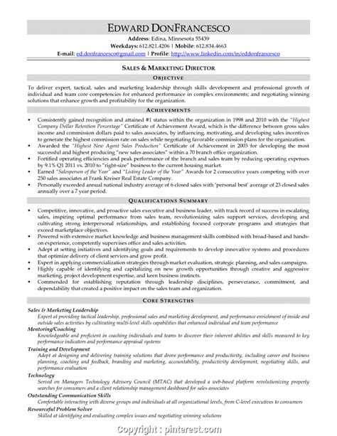 New Sales Manager Resume Core Competencies Resume Example