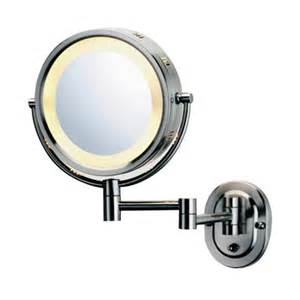 wall mounted lighted magnifying bathroom mirror all mirrors wayfair