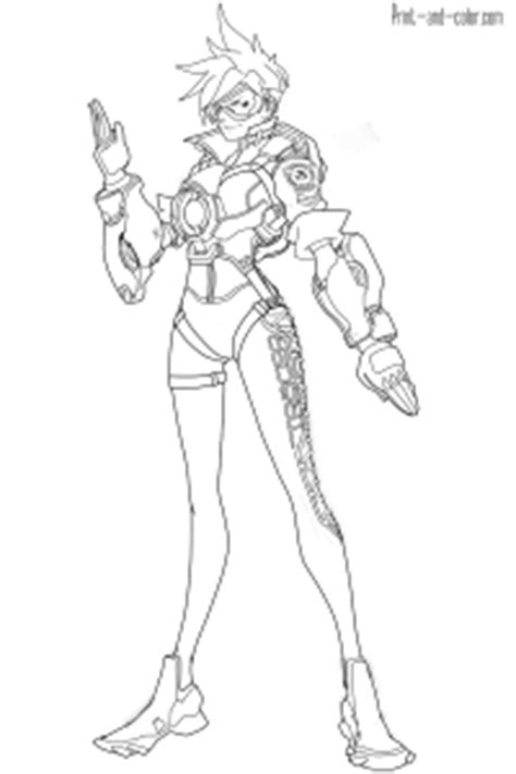 Overwatch coloring pages | Print and Color.com