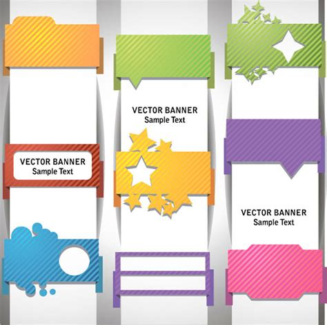 design x banner cdr sle text template vector banner vector banner free