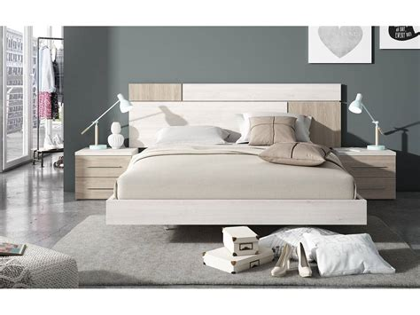 habitacion dormitorio dormitorio de matrimonio blanco nordic y sable
