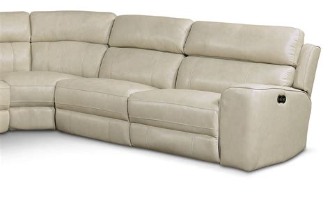 newport sectional newport 5 piece power reclining sectional with left facing