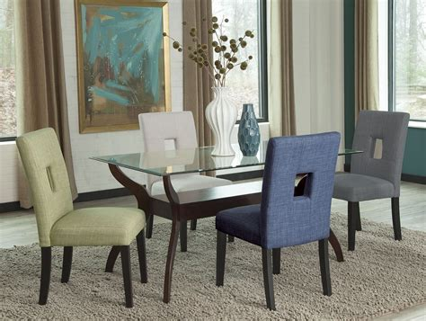 cappuccino dining room furniture collection andenne cappuccino dining room set from coaster coleman
