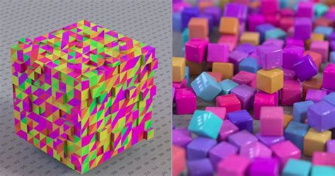random colors add random colors to objects and polygons in arnold for c4d