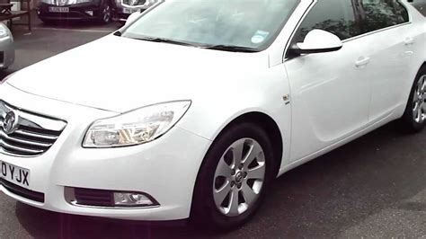 vauxhall insignia white 2010 60 vauxhall insignia 2 0 cdti sri manual diesel in