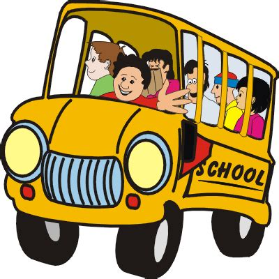 bus cartoon gif clipart best