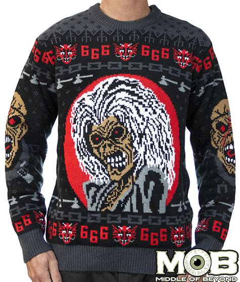 Sweater Metal Heavy Metal Sweaters Iron Maiden Sweater