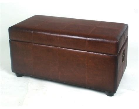 Leather Bedroom Storage Ottoman Modern Bedroom Benches Storage Ottoman Bench Bedroom
