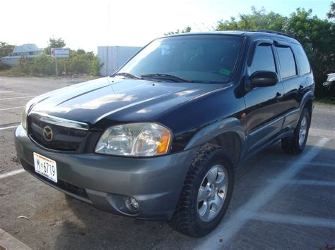 2001 Mazda Tribute Suv Black For Sale 3900 Obo