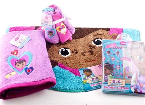 doc mcstuffins rug doc mcstuffins bathroom shower curtain bath rug towel washcloth rags decor