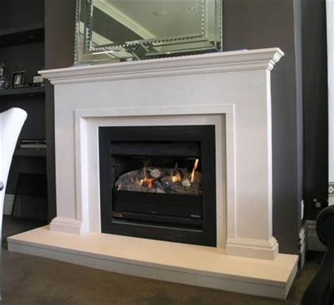 Classical Fireplace by Classical Surround With Trim To Edge Carved