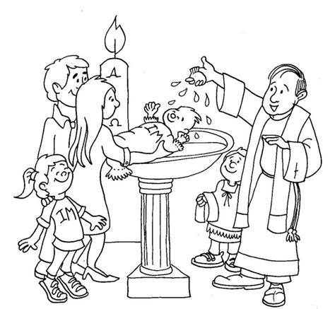 coloring pages jesus baptism 101 best images about pray learn sacraments on pinterest