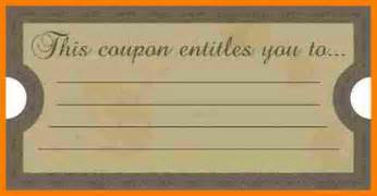 12 blank coupon template job bid template