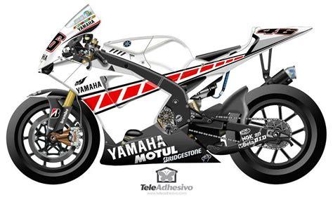 Yamaha 50th Anniversary Aufkleber kit yamaha 50th anniversary valencia 2005