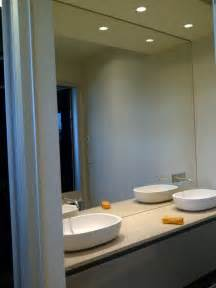 mirrored wall bathroom mirrors repair replace and install in vancouver bc