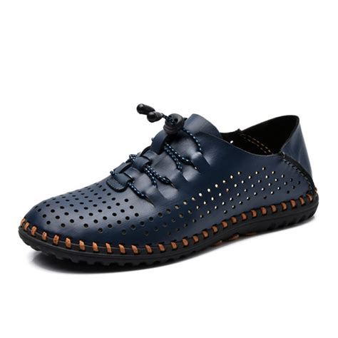 dress athletic shoes soft leather breathable oxfords lace up outdoor