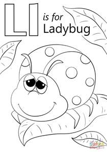 Letter L Coloring Pages For Preschoolers L L L L L L L L L L