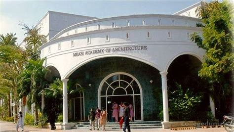 Mba Fees In Measi measi academy of architecture chennai images photos