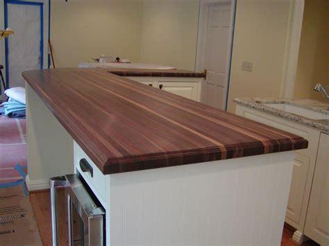 Walnut Countertop by Hardwood Countertops 336 342 9268 J S Home Builders