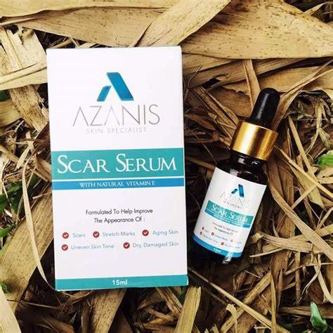 azanis scar serum murahcepatberkesan hilangkan parut
