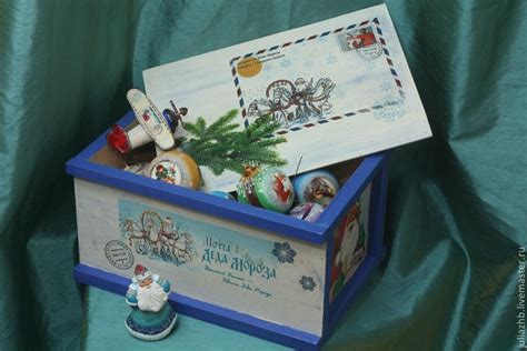box mail order quot gift santa claus quot shop online on