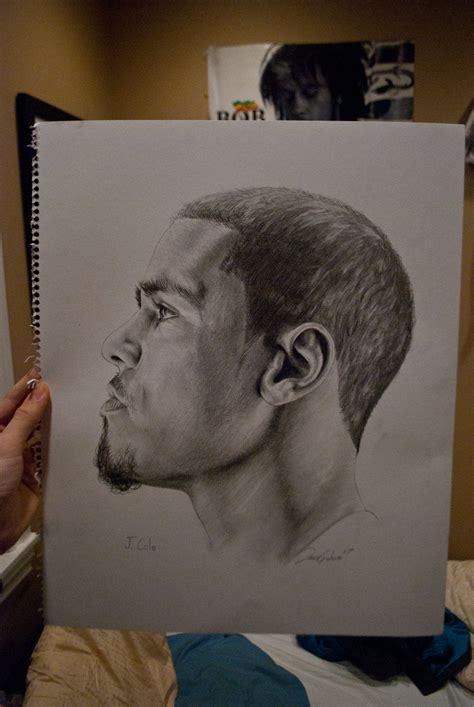 Drawing J Cole by J Cole By Iencilfingerz On Deviantart