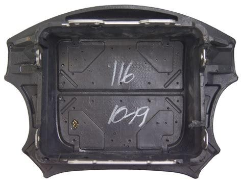 1993 1997 geo prizm chevy steering wheel center airbag cover new oem dark grey ebay