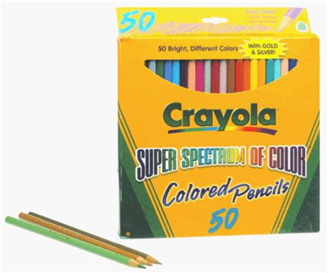 crayola 50ct colored pencils crayola 50ct colored pencils theofficepanda